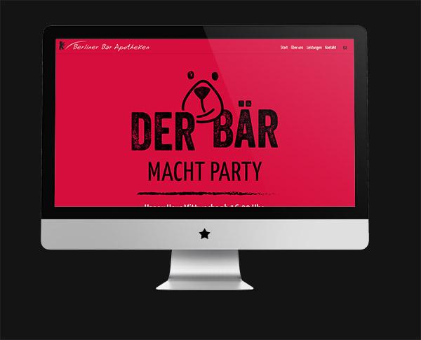 permanent. Wirtschaftsförderung entwickelt Webseite für die Berliner Bär Apotheken in Hamburg