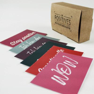 Positives Wertschätzungskarten - Motivation für Führungskräfte